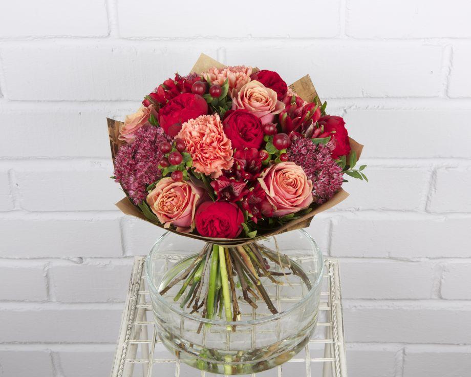 Букет с розами Пиано